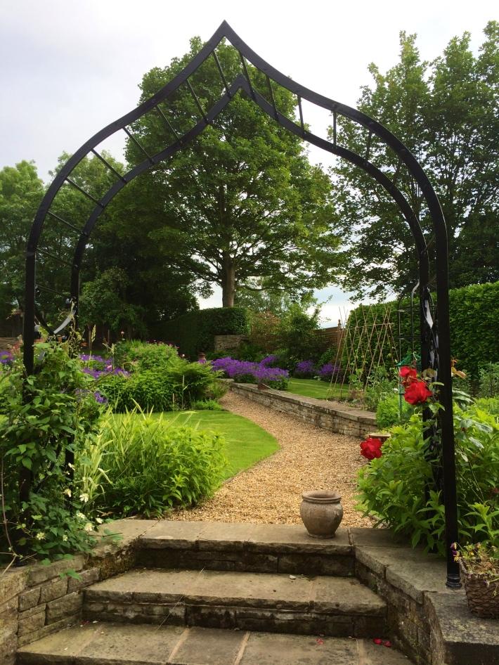 Garden Rose Arch - Ambrose Wood & Son